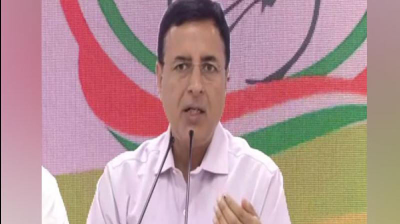 Taking to Twitter, Congress communications in-charge Randeep Singh Surjewala requested all media channels and its editors to not place any Congress representatives on their shows. (Photo: File)