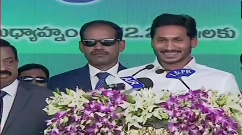 Reddy, is the son of former Andhra Pradesh Chief Minister YS Rajasekhara Reddy. (Photo: ANI | Twitter)