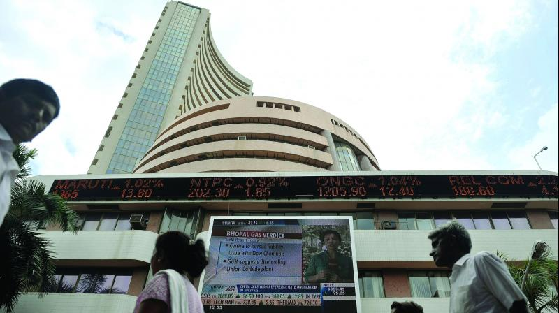 The border market indices also fell with BSE Mid-Cap Index down 0.67 per cent and BSE Small-Cap Index down 1.03 per cent.