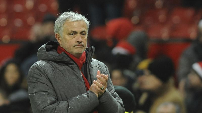 Jose Mourinho insists the pending signing of Arsenal forward Alexis Sanchez must not distract from Manchester United's league campaign when they visit Burnley on Saturday.(Photo: AP)