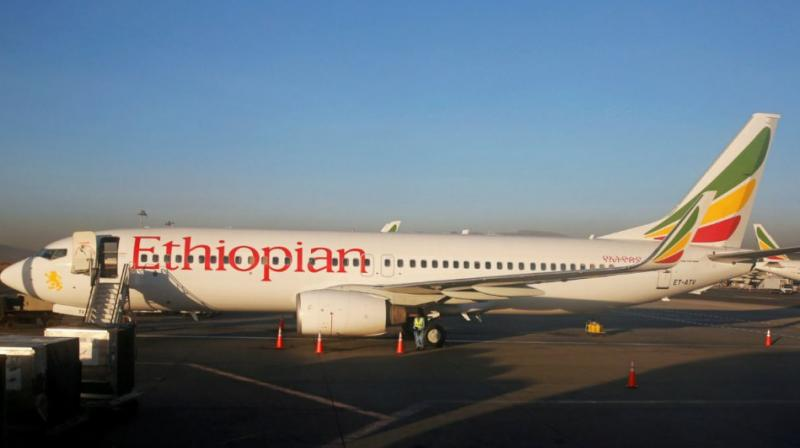 After the crash in Ethiopia, Boeing, on Sunday, said it was deeply saddened to learn of the passing of the passengers and crew on Ethiopian Airlines Flight 302, a 737 MAX 8 aeroplane.. (Photo: File | AP)