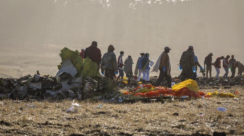 The crashed killed everyone on board. (Photo:AP)