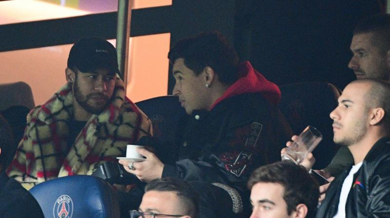 Neymar will escape prosecution for an altercation with an opposition supporter after Paris Saint-Germain's surprise defeat in the French Cup final in April. (Photo:AFP)