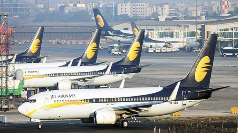 Jet cancels global flights for Thursday, seeks funds to stay afloat