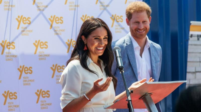 The Duchess of Sussex gave birth to son Archie in May after marrying Prince Harry last year. (Photo: AFP)