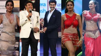 Star power was in abundance on the second day of the SIIMA Awards held in Dubai on Saturday. (Photos: Viral Bhayani/ Twitter)