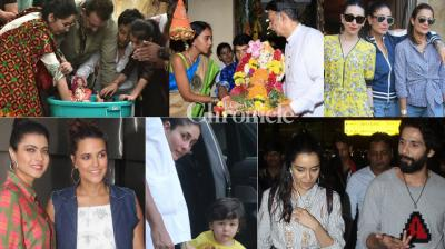 Bollywood stars' activities were well-tracked by the paparazzi as they stepped out in Mumbai on Saturday. (Photos: Viral Bhayani)