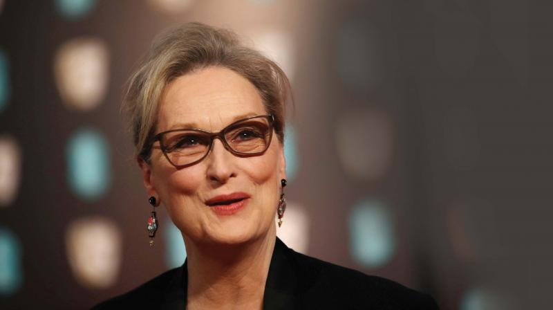 Posters Pop Up Around LA Claiming Meryl Streep Knew About Weinstein