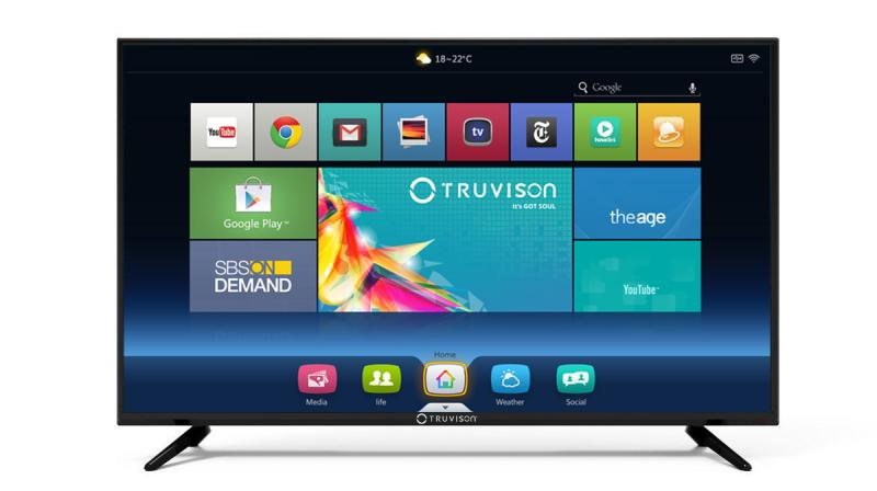 The smart TV comes with two HDMI ports, internet supported in-built apps and Wi-Fi.
