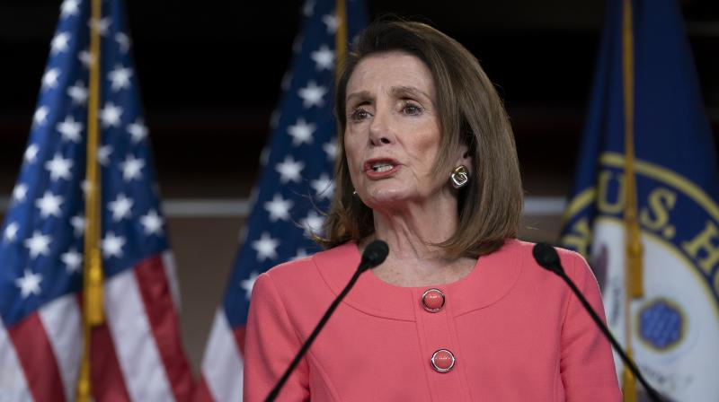 The duelling statements marked a sharp escalation in the conflict between Trump's administration and Democrats. (Photo:AP)