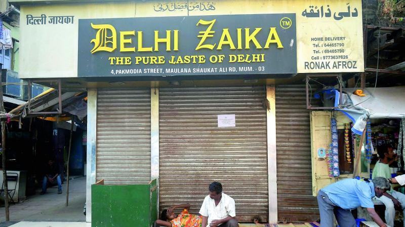 Hotel Delhi Zaika, one of Dawood Ibrahim's properties which were up for auction in Mumbai. (Photo: PTI)