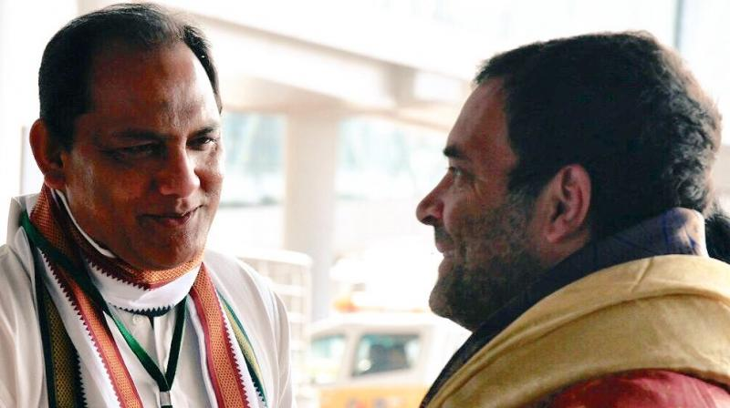 Azharuddin was an MP from Moradabad in Uttar Pradesh in 2009, after he joined the Congress in the same year. (Photo: @azharflicks/Twitter)