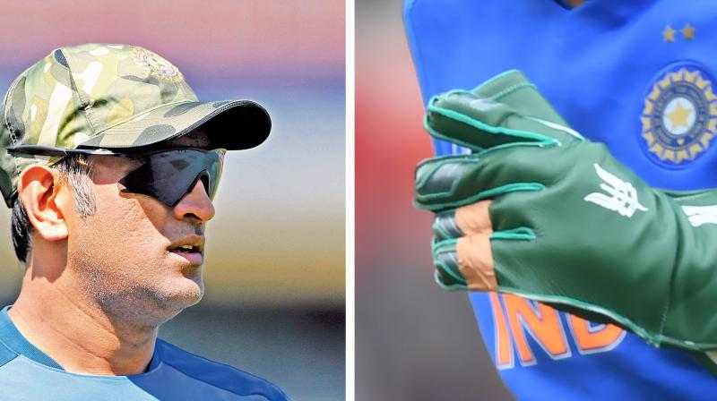 ICC wants Army insignia removed from Dhoni's gloves