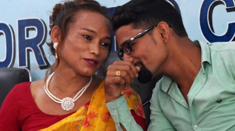 Marrying a transgender woman