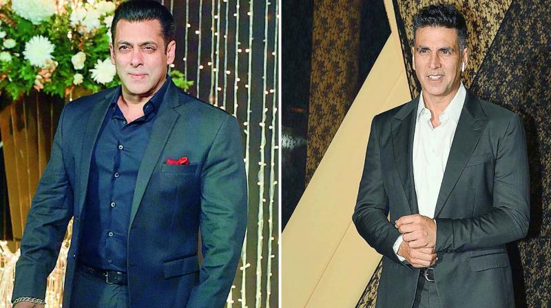Salman Khan and Akshay Kumar.