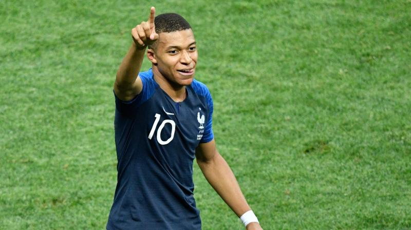 Mbappe, who has already scored 32 goals this season, was named both the best player and best Under-21 player for the 2018-19 season. (Photo: AFP)