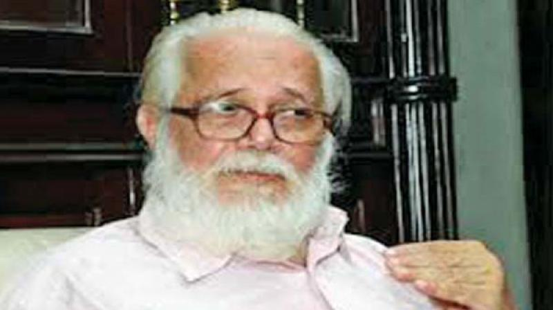Former ISRO scientist Nambi Narayanan. (Photo: File)
