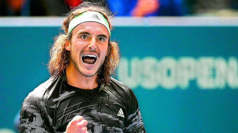 US Open: Uninspired Tsitsipas lashes out at umpire during loss