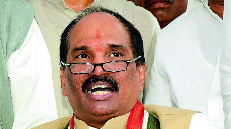 TPPC chief N. Uttam Kumar Reddy