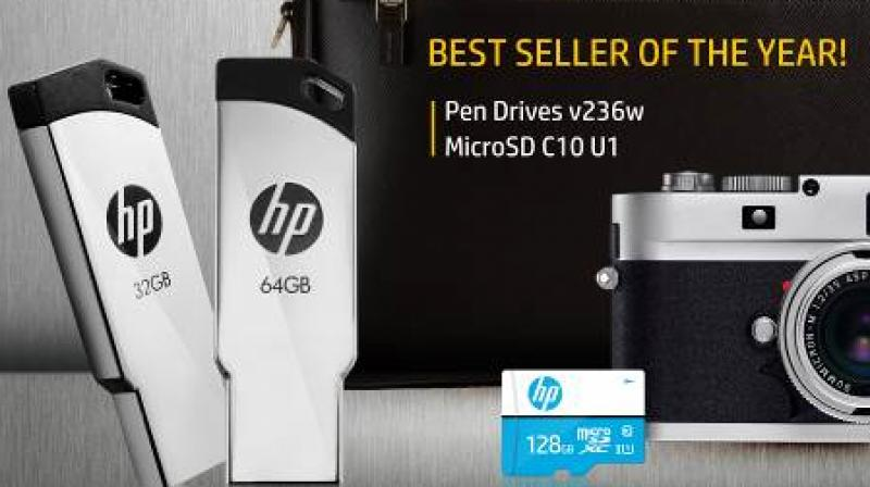 The HP U1 Micro SD Card is offers fast read speeds of up to 100 MB/s.