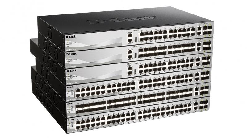 The DGS-3130 series offers reliability and complete management options.