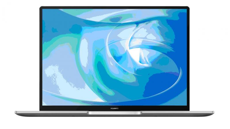 The 14-inch HUAWEI MateBook 14 is equipped with Huawei's signature FullView display, with the top and side bezels measuring at only 4.9mm.