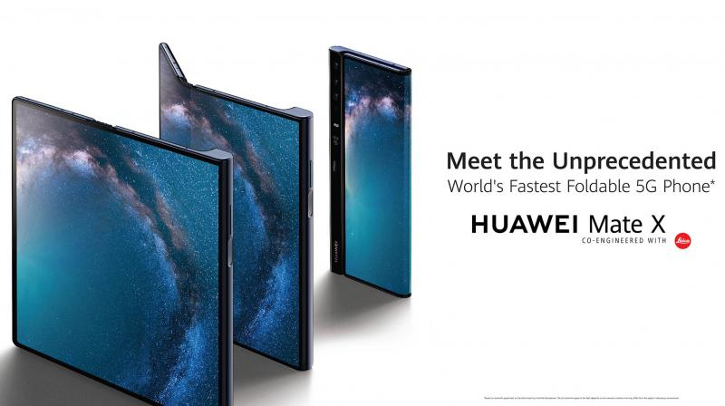 The Huawei Mate X is scheduled to launch by mid 2019.