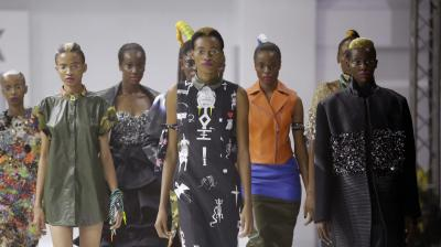 LFDW provides a platform for buyers, media, and fashion enthusiasts to view collections from leading designers from Nigeria and across Africa. (Photo: AP)