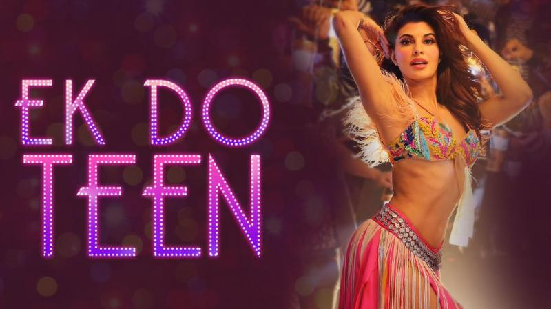 Jacqueline's 'Ek do teen' crass, says 'Tezaab' makers