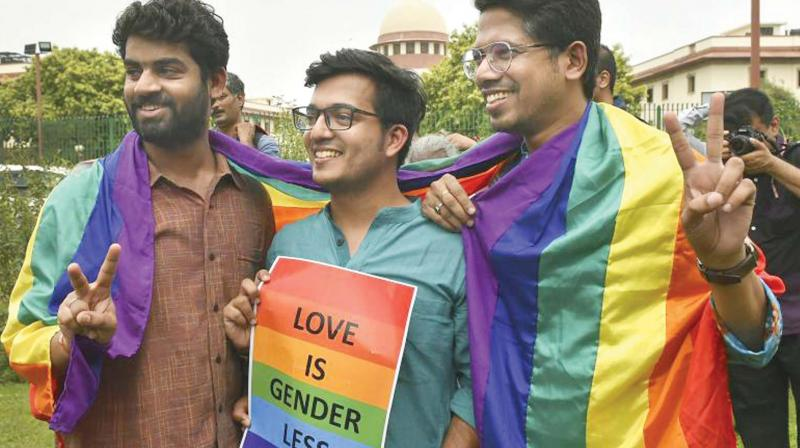 In India, the Supreme Court legalised gay sex six months back, a ruling praised by people across India.