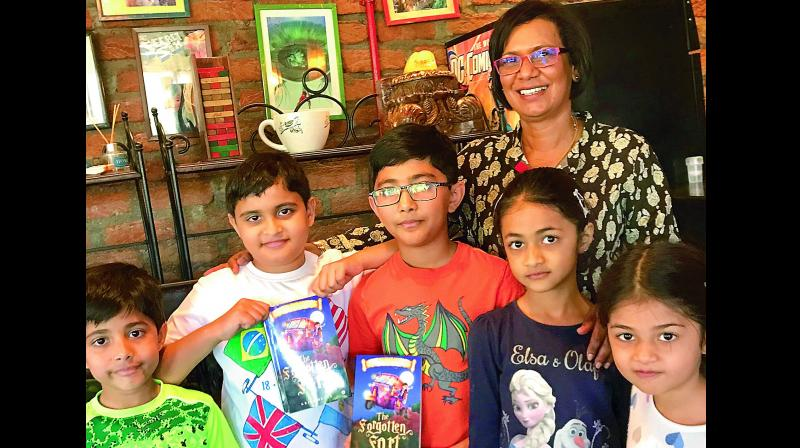 Author Kripa Devar's upcoming book, The Forgotten Fort, takes a kid's imagination to another level.