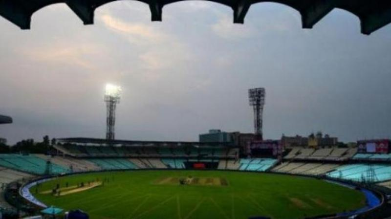 Bangladesh Prime Minister Sheikh Hasina and West Bengal chief minister Mamata Banerjee are likely to watch India's first-ever Day/Night Test together at Eden Gardens. (Photo: PTI)