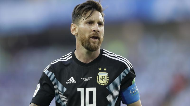 Lionel Messi dethroned five-division boxing world champion Floyd Mayweather as the highest paid athlete over the past year (Photo: AP)