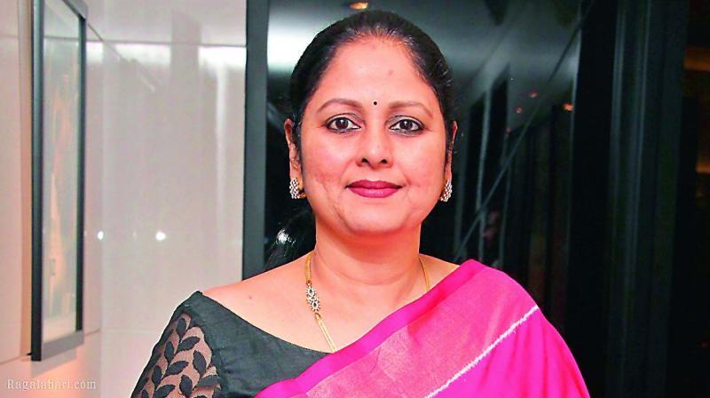 Actress Jayasudha