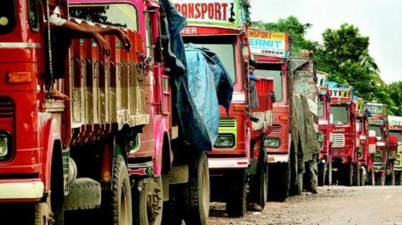 The one truck seized on Friday got caught only because it was stuck in the muddy land behind Infosys, according to the Corporation officials.  (Representational image)
