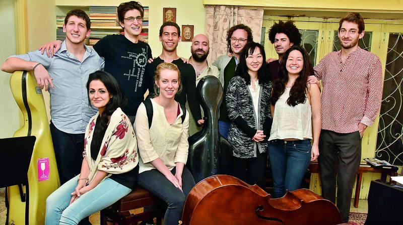 International musicians participating in SOTA classical music festival