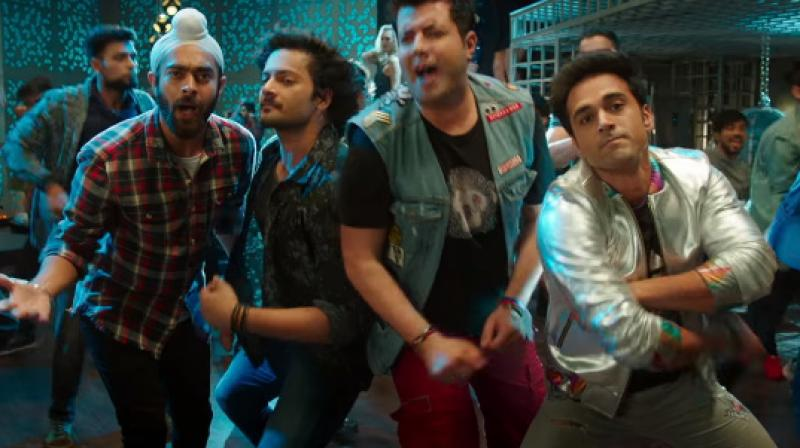 A still from 'Fukrey Returns.'