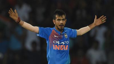 Yuzvendra Chahal took three wickets as India stayed in the driver's seat in the Nidahas Trophy final against Bangladesh. (Photo: AFP)