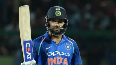 Rohit Sharma got to his 14th T20I fifty. (Photo: PTI)