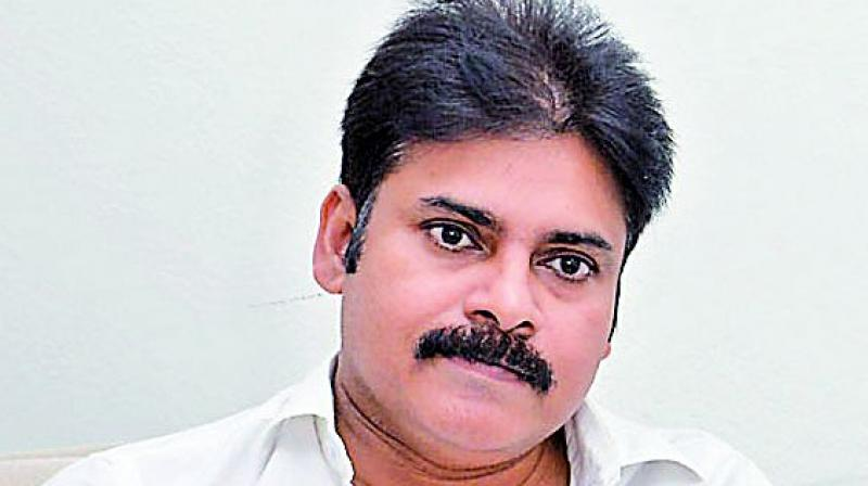 Actor-turned-politician Pawan Kalyan