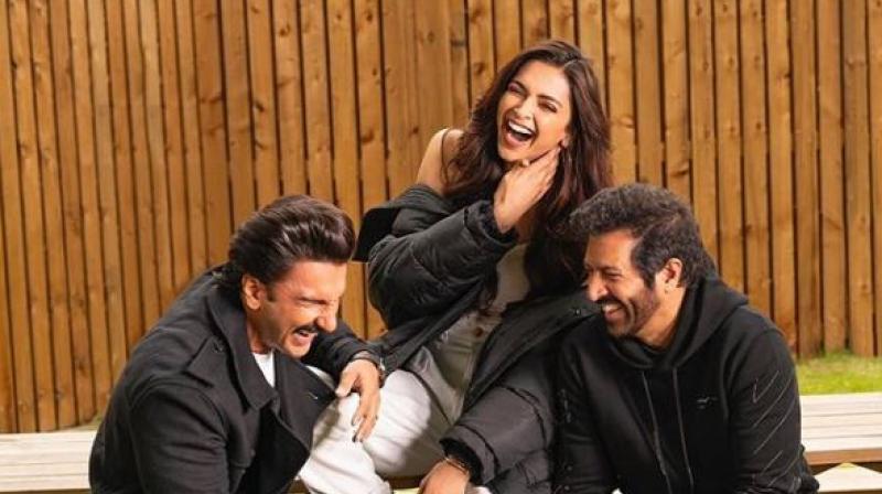 Deepika Padukone, Ranveer Singh & Kabir Khan