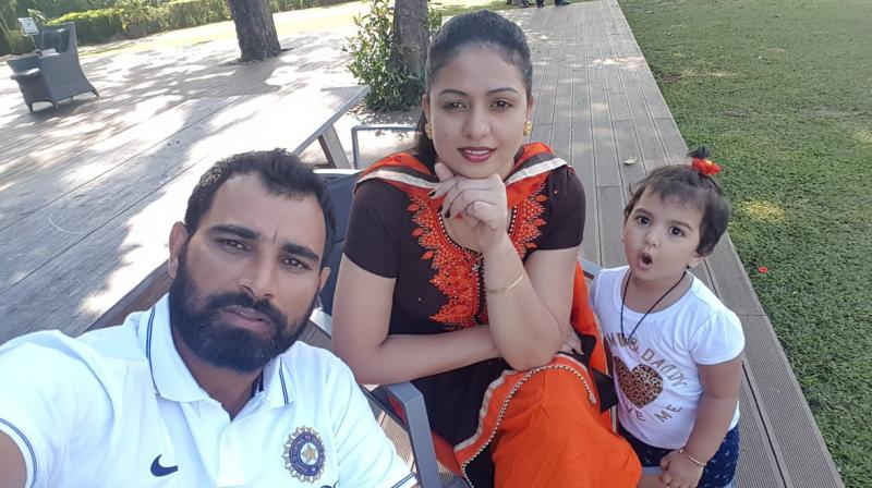 """If this matter can be solved by talking, nothing can be better than that. Only patch up will do good for us and our daughter,"" said Mohammed Shami on Hasin Jahan's allegations. (Photo: Twitter)"