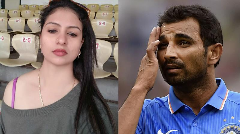 Before filing a complaint against Mohammed Shami and his family members, Hasin Jahan, wife of Indian pacer, took to Facebook to claim that Shami has multiple extra-marital affairs and shared the photos of alleged chats between Shami and his girlfriends. (Photo: Facebook / AP)