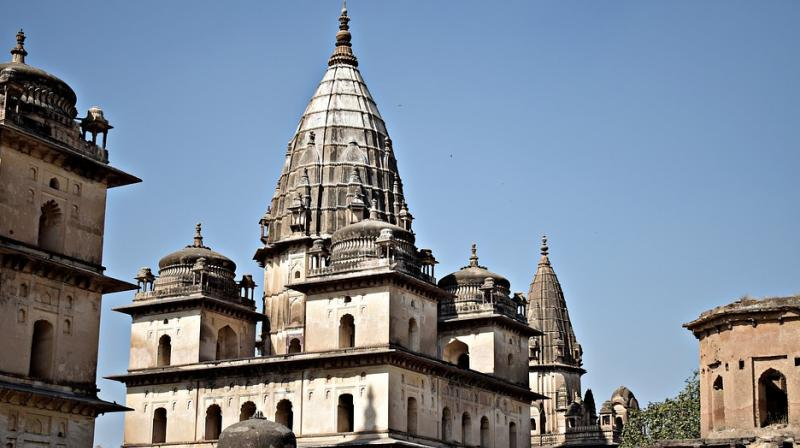 The 16th century town is famous for several culturally significant sites such as the Chaturbhuj Temple, Orchha Fort and Raja Mahal among other sites. (Photo: Representational/Pixabay)