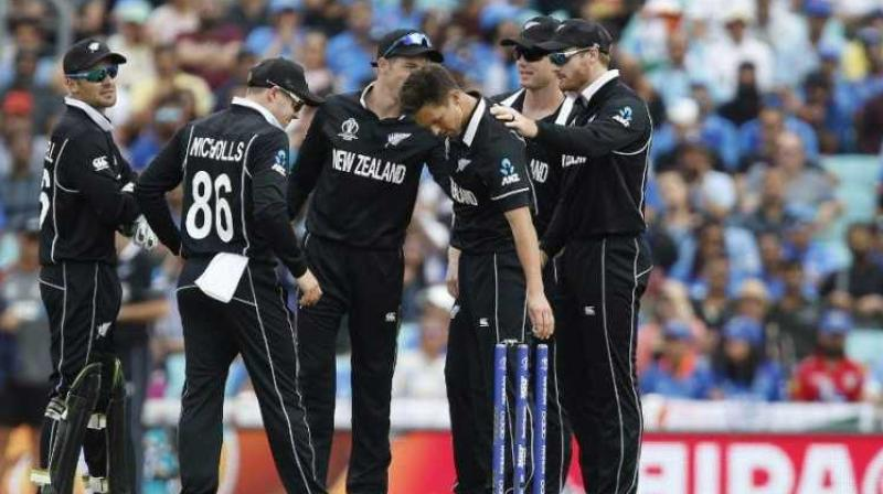 New Zealand cricket team on Monday was awarded the Christopher Martin-Jenkins Spirit of Cricket award for 2019. (Photo:AFP)