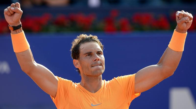 Battling Nadal one win away from 400 on clay