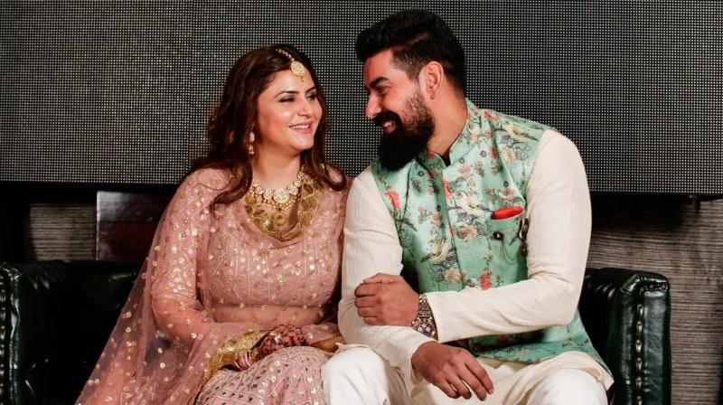 Kabir Duhan Singh and Dolly Sandhu.