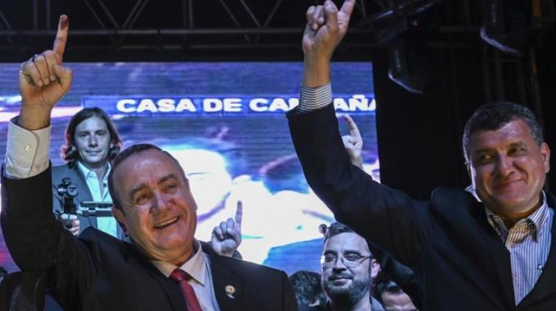 With the results being updated in real time on the court's website, the institution's president Julio Solorzano declared the result 'already irreversible.' (Photo: AFP)