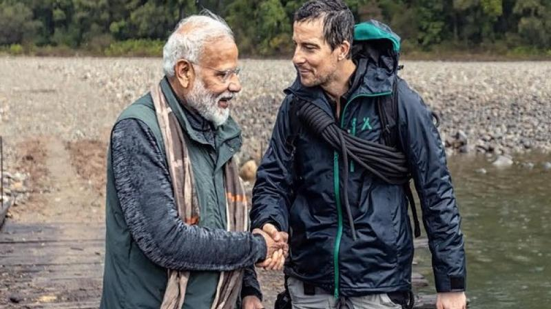 Man vs Wild' episode featuring PM Modi to air today at 9 pm