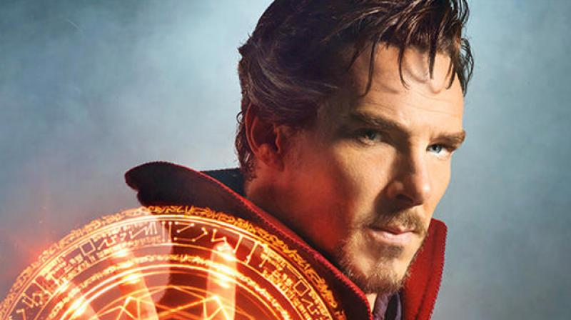 Benedict Cumberbatch's look from the film.